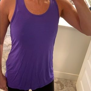 Beyond yoga tank with open back